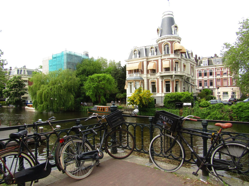 Bicycicles in Amsterdam