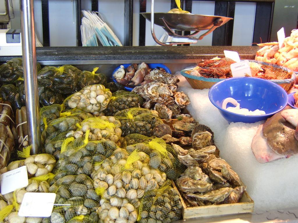 Hoath fish market in Ireland