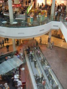 Dublin shopping mall
