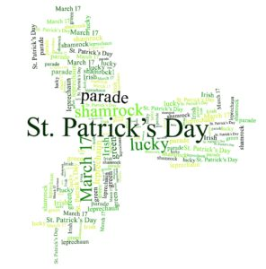 Saint Patrick Day Tag