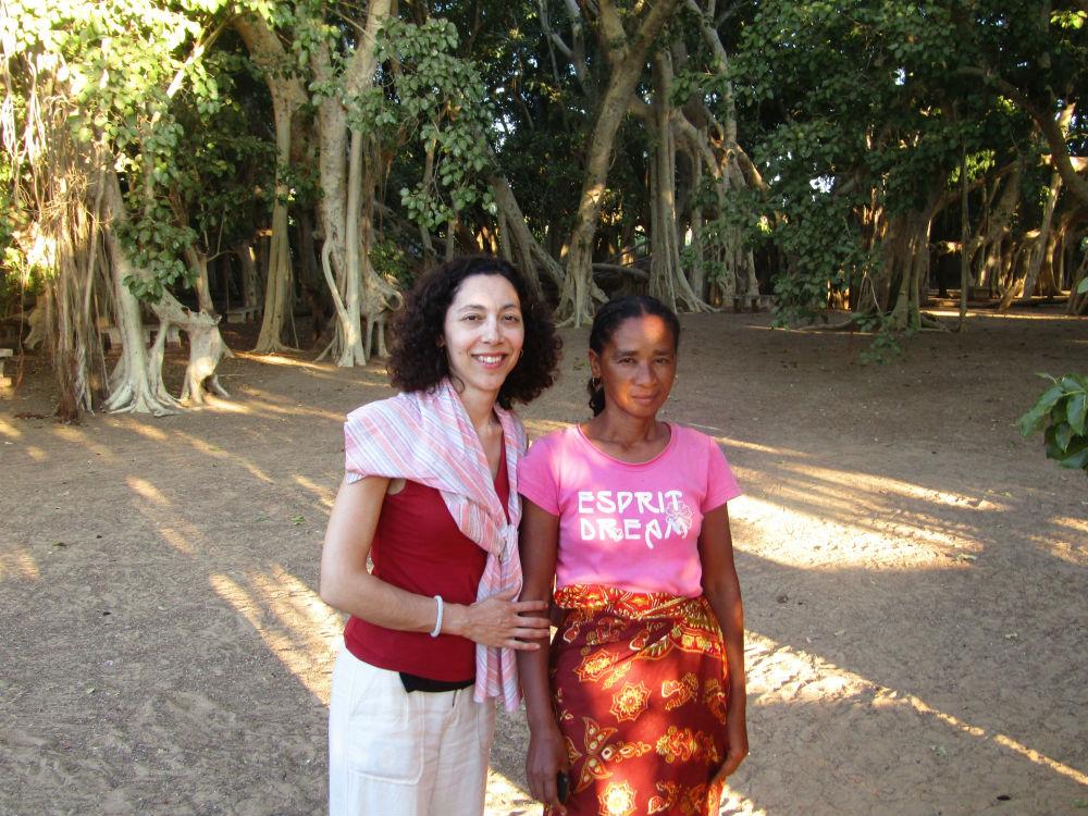 Guide at Miary sacred Banyan tree in Madagascar with Ella Travels