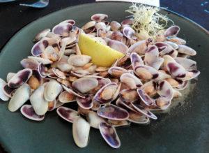 Fruits de Mer frais Calafell nourriture Barcelone