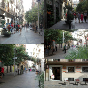 Gracia shopping Barcelona things to do in the summer