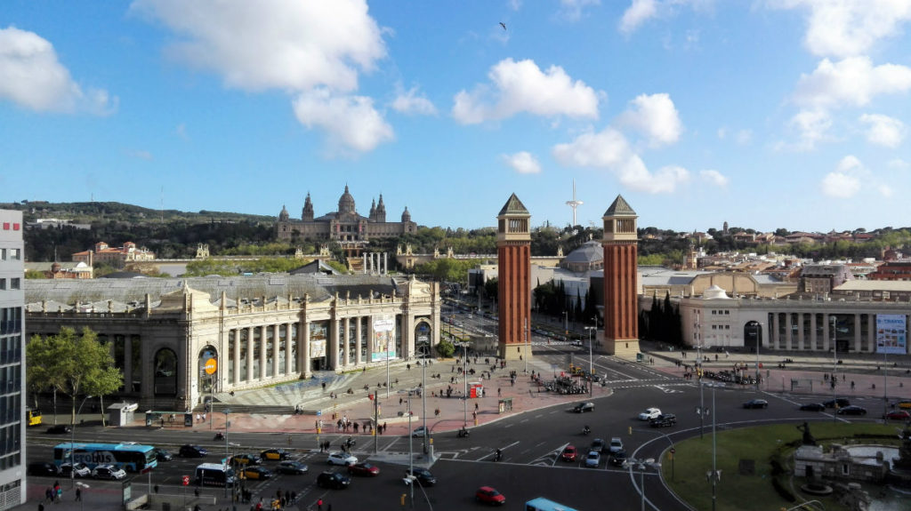 Plaza Espanya Montjuic things to do in Barcelona