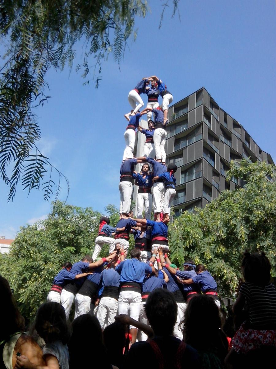 events barcelona Castellers Festa Major Poblenou