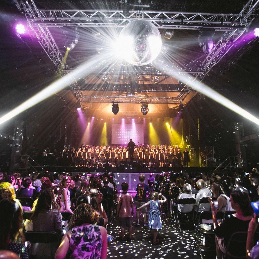 Concert Barcelona English Choir Razzmatazz