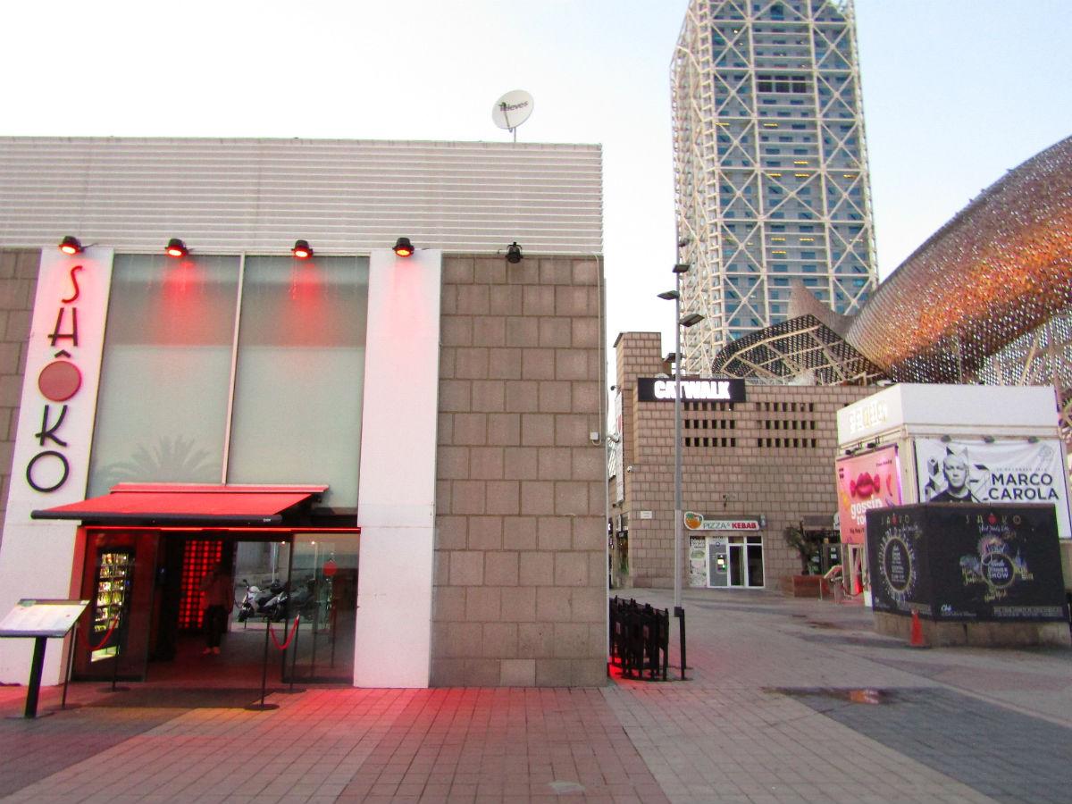Clubs discothèques Boites de nuit sur la plage à Barcelone