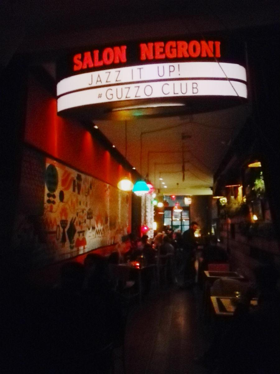 uzzo Nightclub bar Barcelona