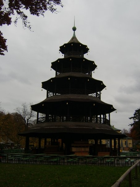 Chinesiche Turm - Chinese Tower Munich Germany