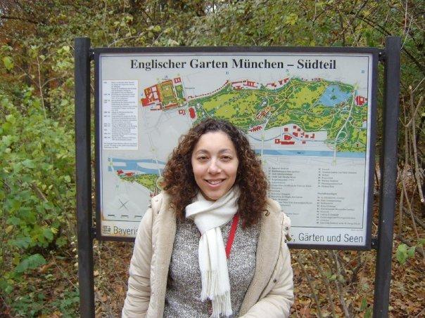 Ella Travels at Englischer Garten Suedteil