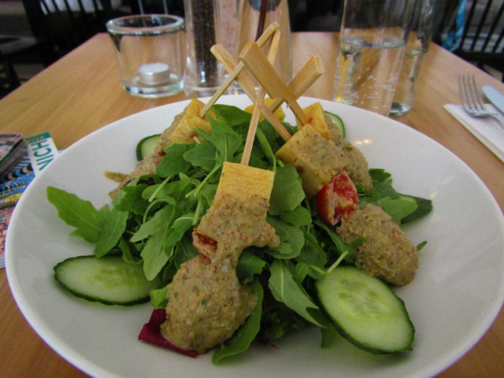 Déjeuner Manger au restaurant végétalien Prinz Myshkin à Munich