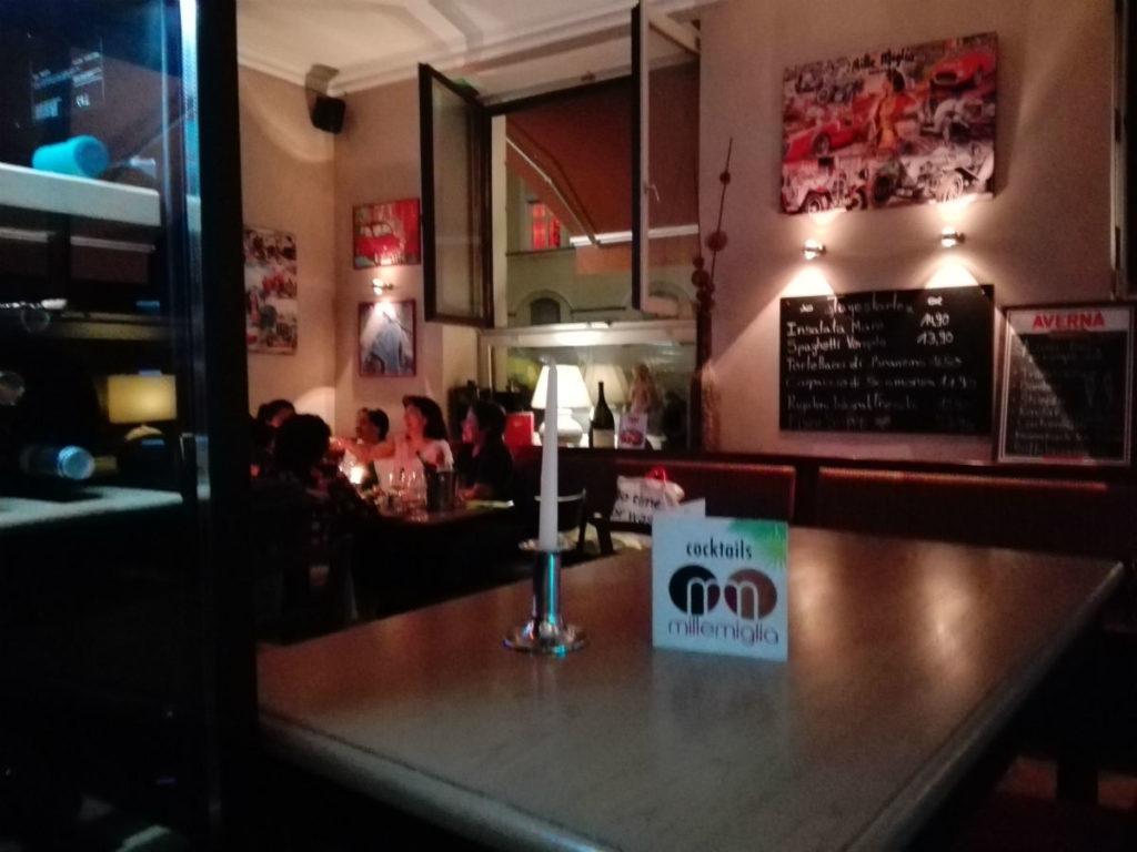Millemiglia Italian restaurant Munich