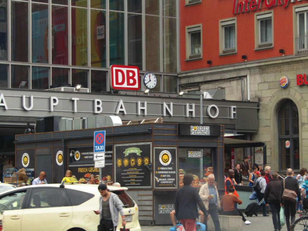 Munich Railway Station Hauptbahnhof
