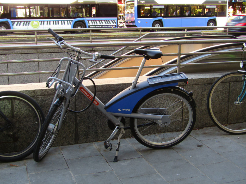 Munich Transport Public Bikes MVG