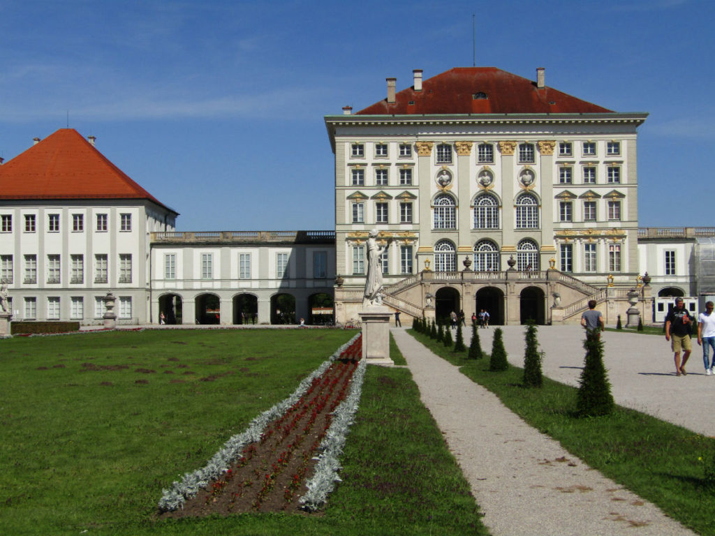 Chateau Munich Schloss Nymphenburg