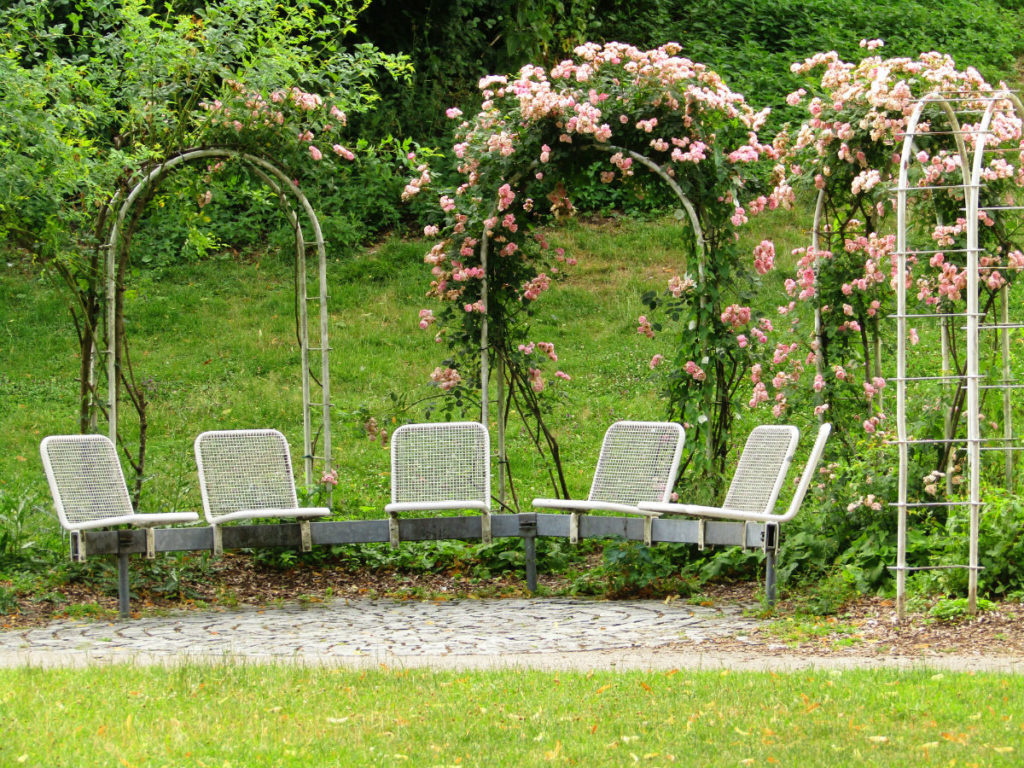 Westpark sitting areas Munich