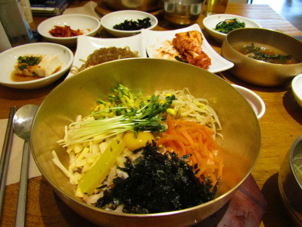 Bibimbap best food in Jeonju Korea