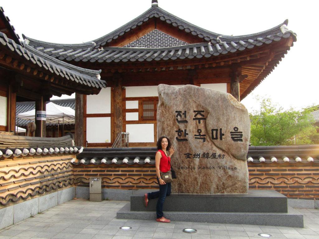 Jeonju Hanok Village with Ella