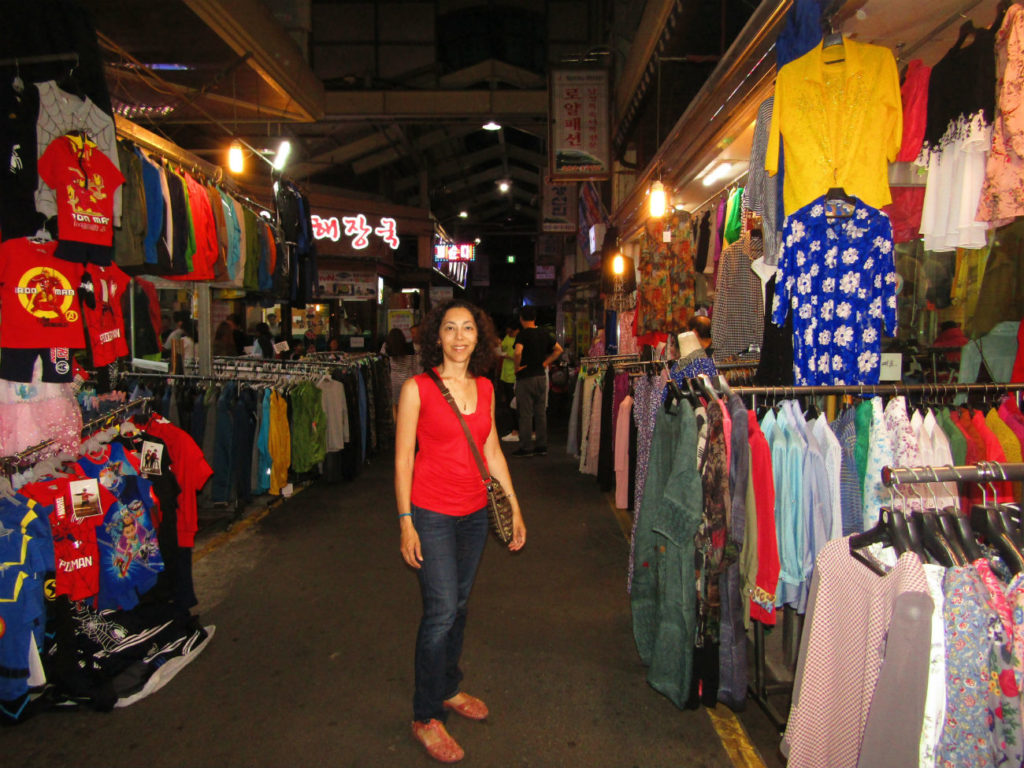 Nambu Market Ella in Jeonju Hanok Village