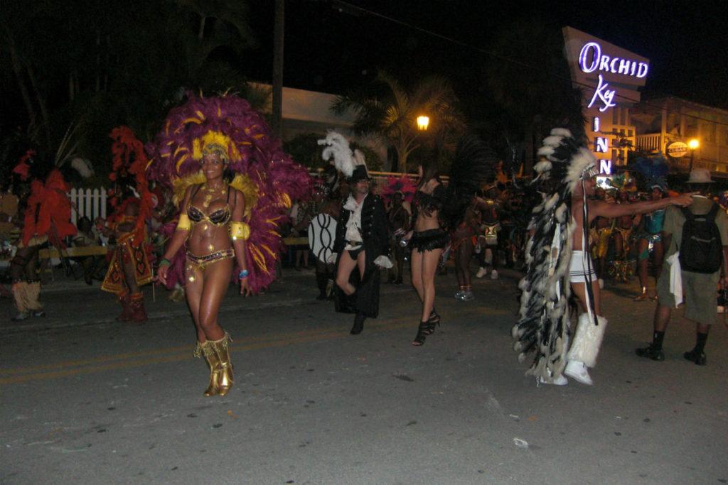 Parade Fantasy Fest Florida Keys