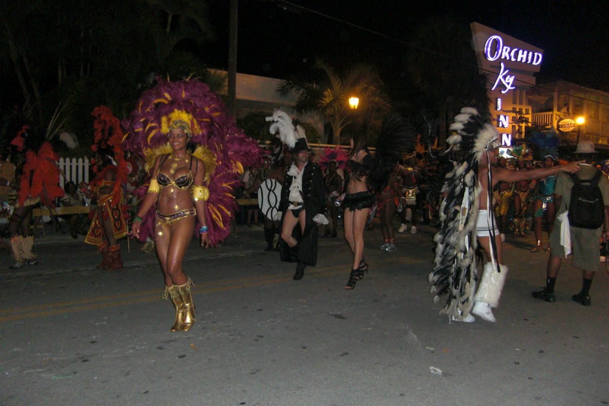 Parade Fantasy Fest Florida Keys