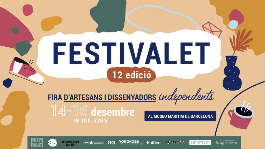 Festivalet christmas market flyer