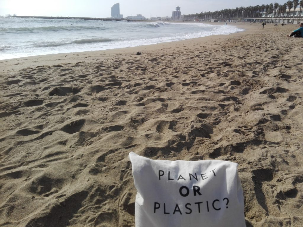 No more plastics going shopping