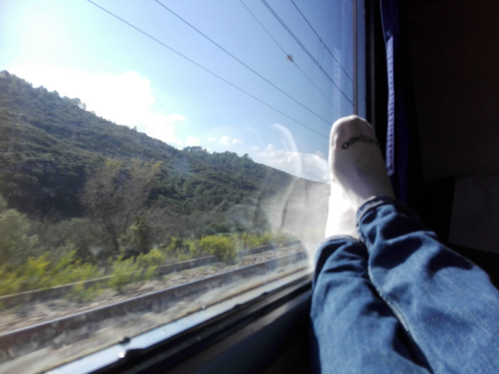 Travel by Train green resolutions