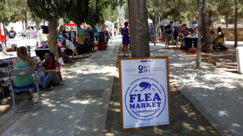 Flea Market Barcelona Sustainable shopping