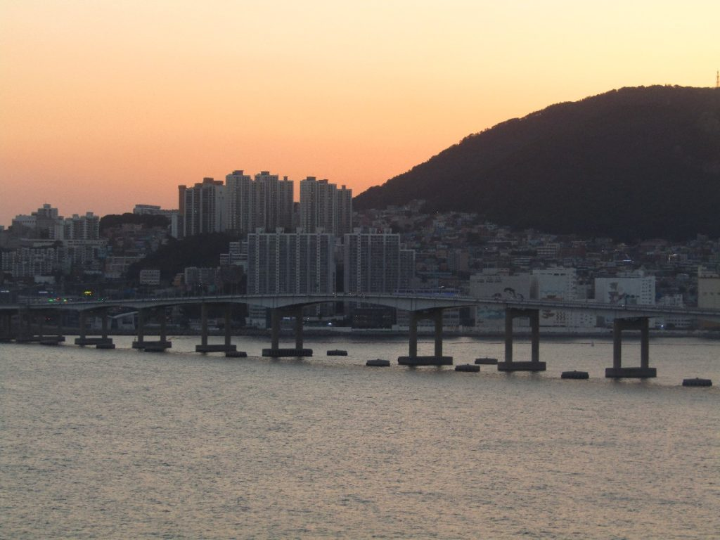 Gwangan Bridge Busan South Korea