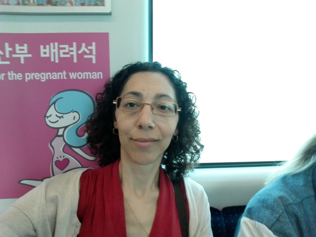 Pregnant Seat Sign in the train of Seoul airport