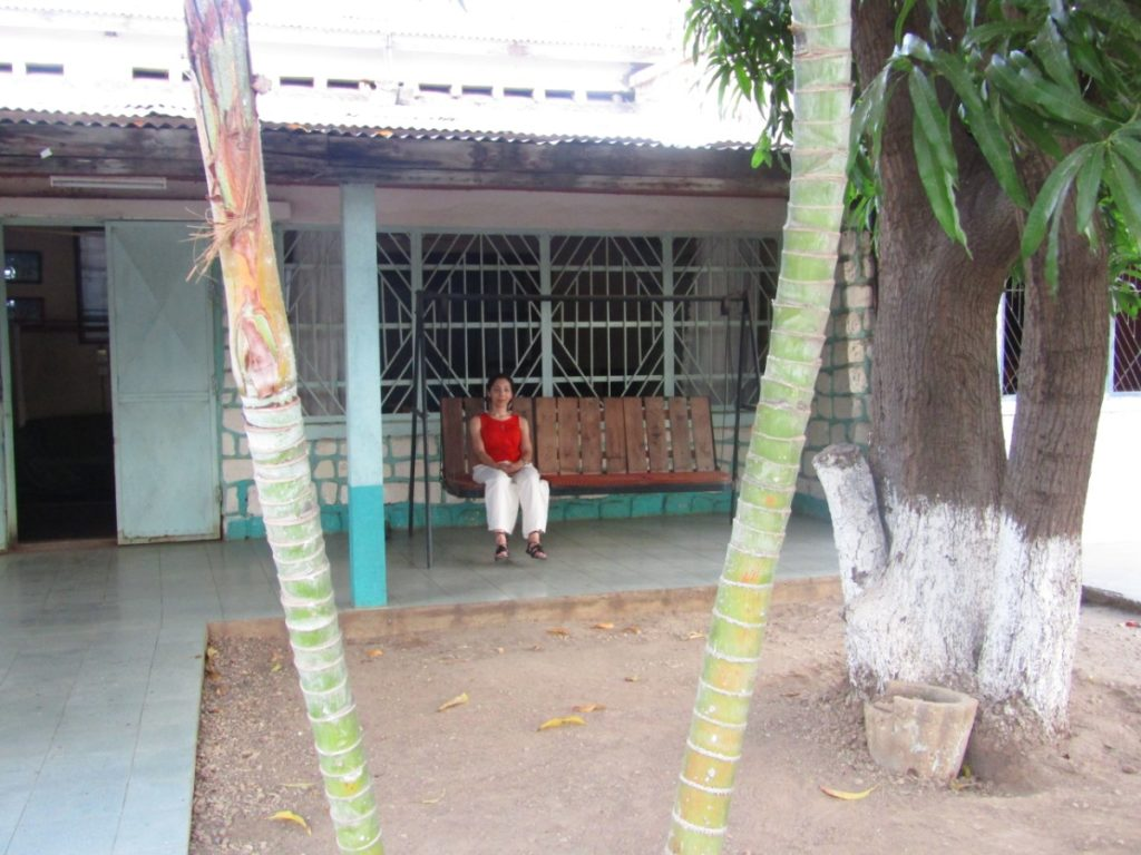 Back to my grandfather 's house in Sanfily, Tulear, Madagascar where I lived for several months during my childhood - expat life