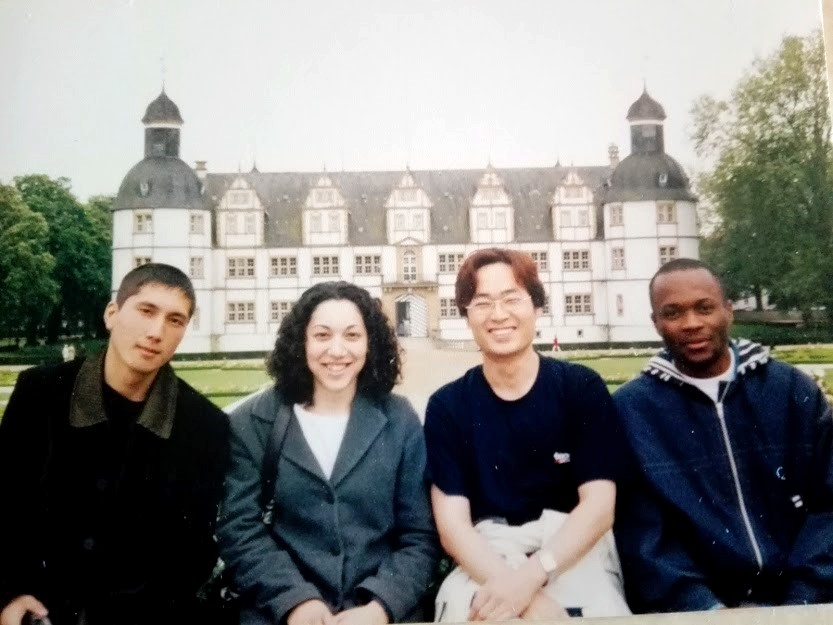 Me and my classmates from 3 different continents in Germany where racism and exlcusion didnt seem to exist.
