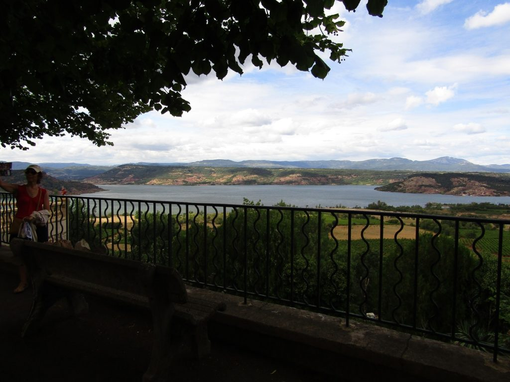 View of Salagou from Liausson