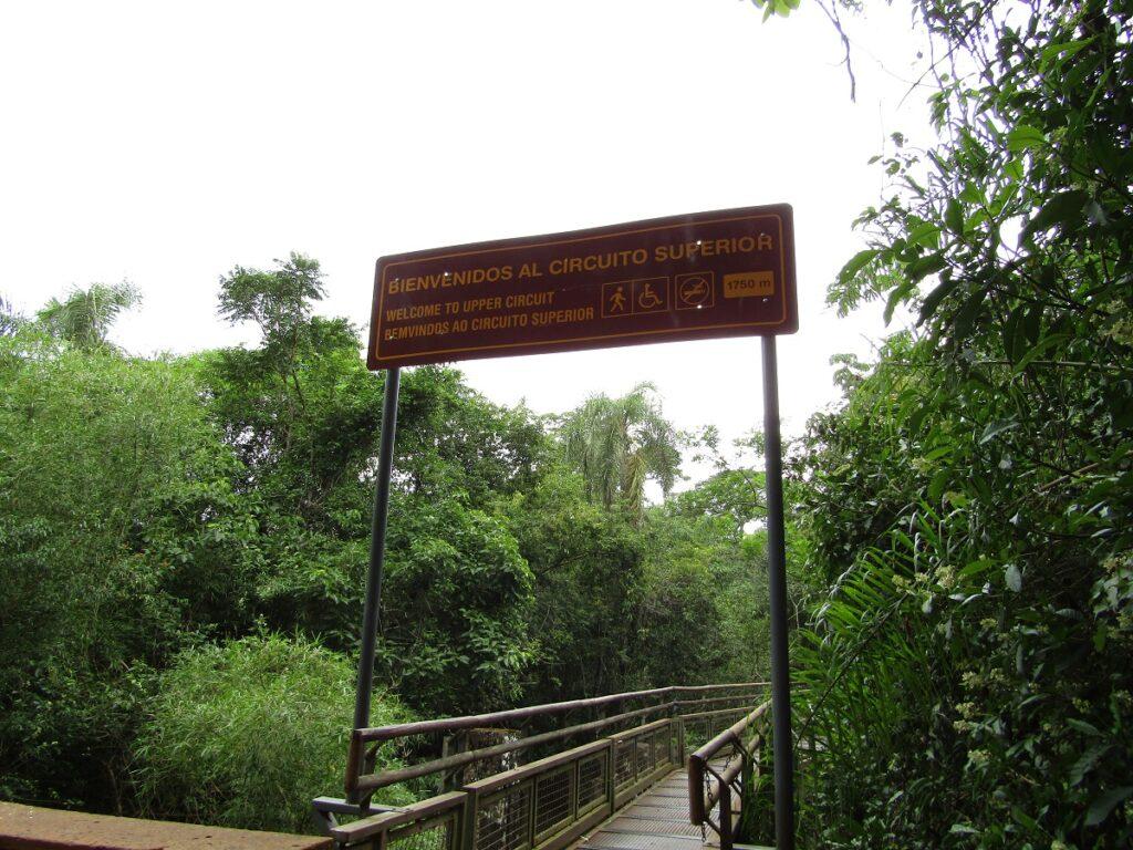 Circuit supérieur Iguazu en Argentine