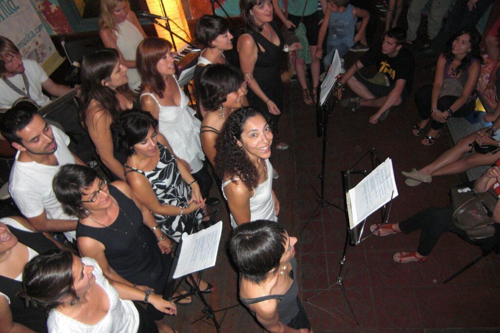 Concert with the Buena Onda school