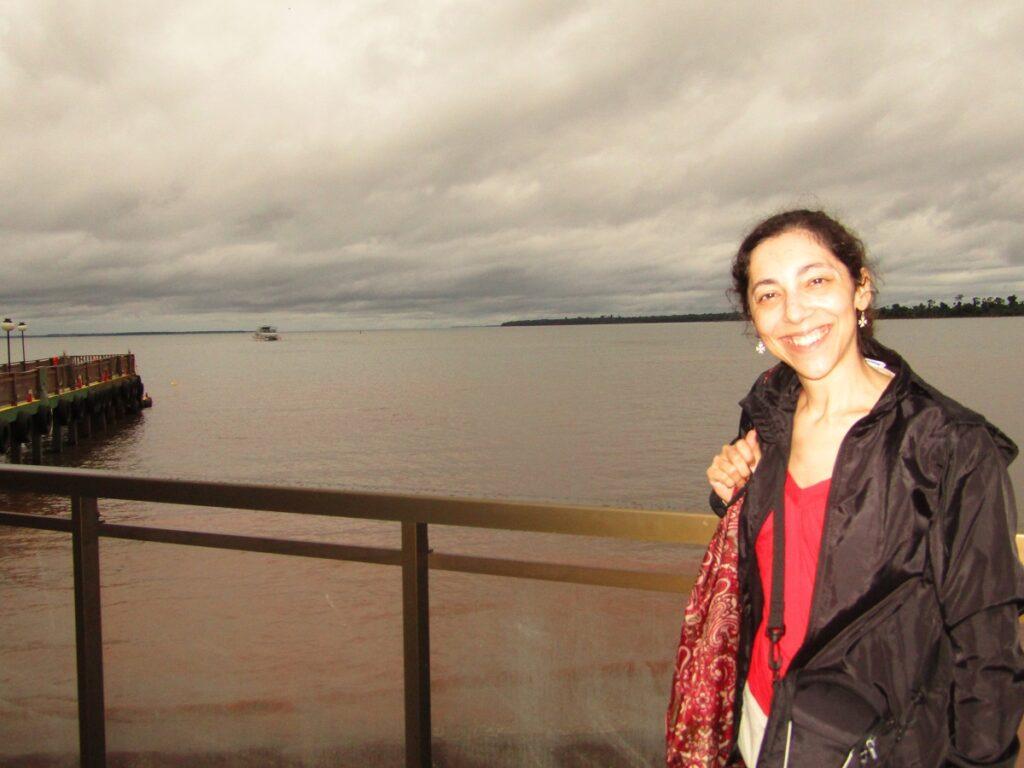 Itaipu bus tour up to the Iguazu river