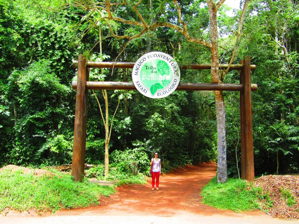 Entrée à Macuco Ecoaventuras au parc Iguazu au Brésil