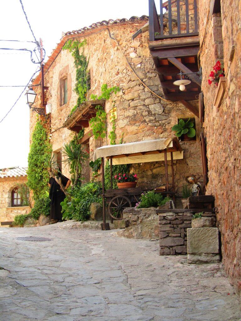 Mura medieval village Catalonia