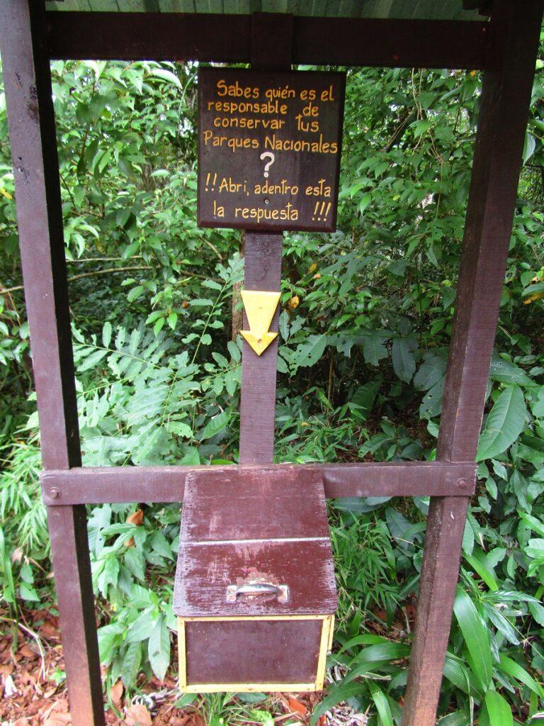 Responsible tourism awareness