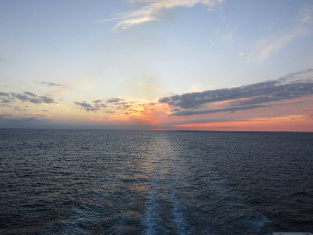 best sunsets Somewhere in the Caribbean Sea