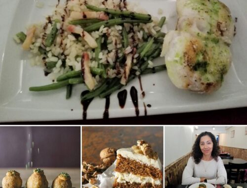 Best places to eat healthy Barcelona special diet restaurant and cafe