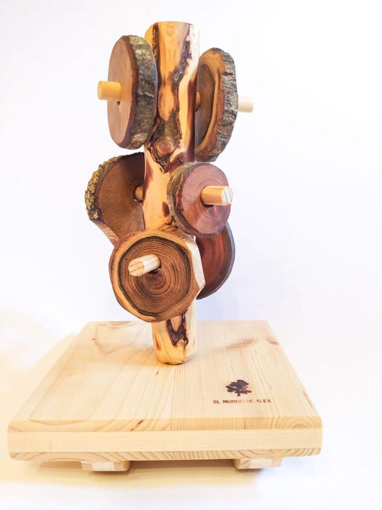 El Mundo de Alex Wooden eco-friendly toys Treeky basic