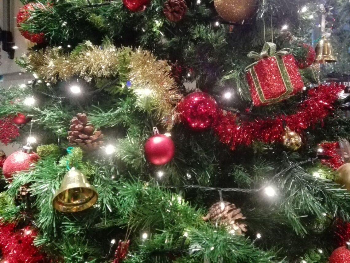 Sapin de Noel Barcelone Marche de Noel ecoresponsable